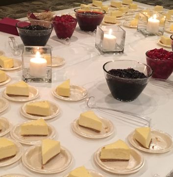 Mid Plains Event Catering Cheesecake Bar