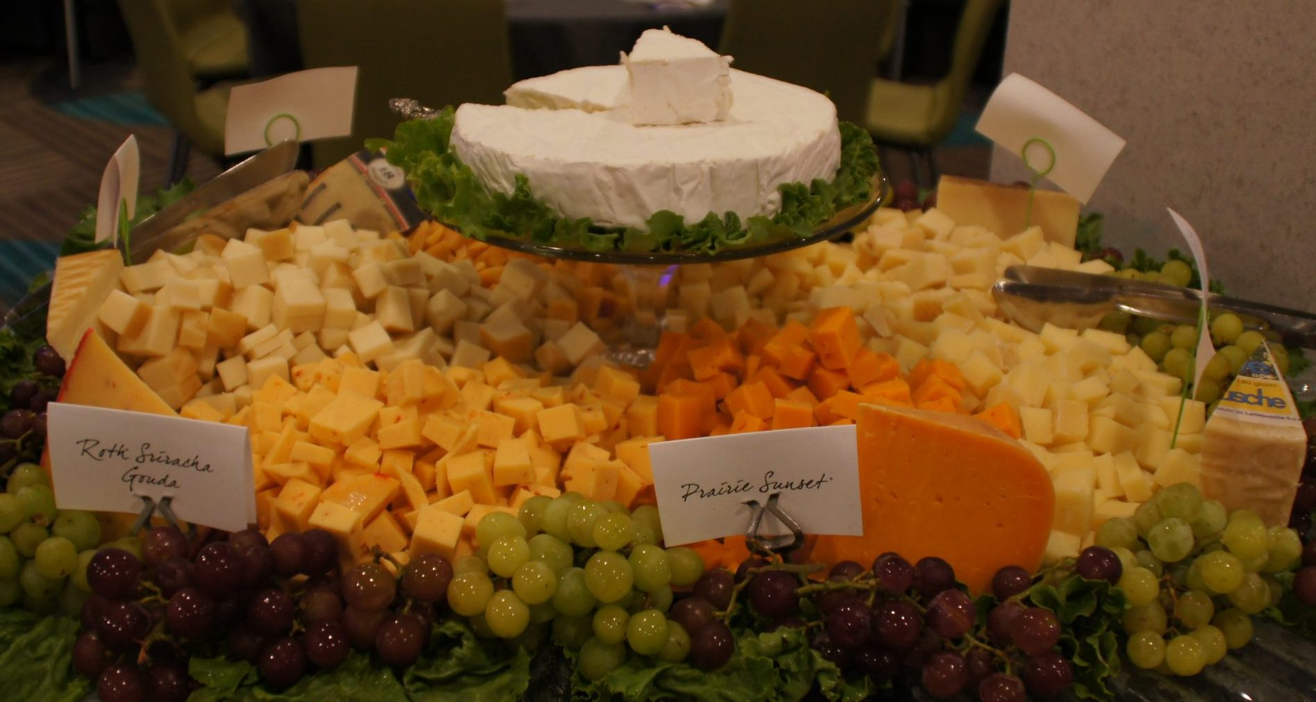Mid Plains Event Catering Cheese Cubes Appetizers