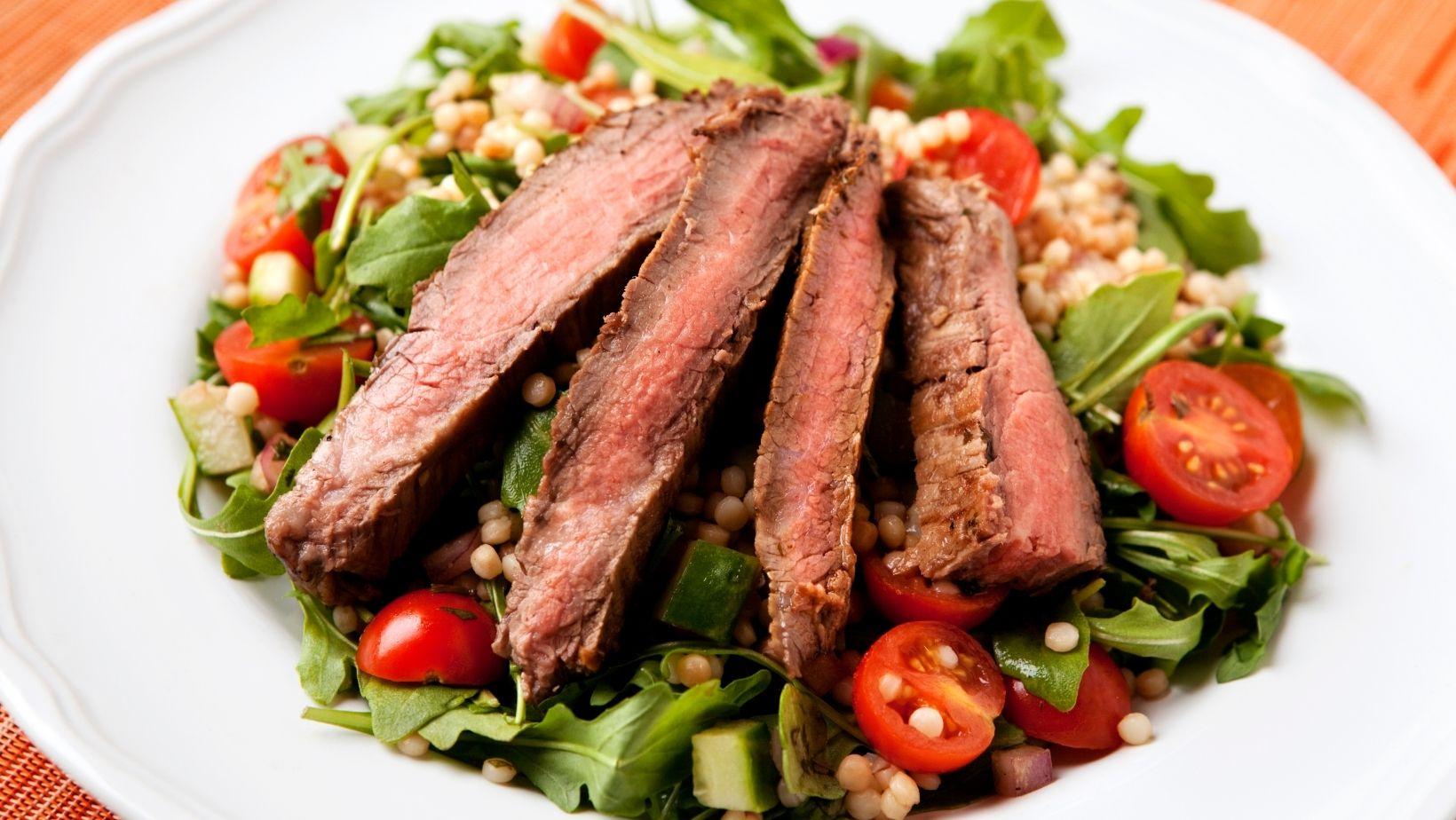 Mid Plains Event Catering Steak Salad