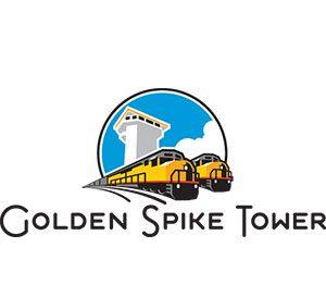 Golden Spike Tower & Visitors Center North Platte Logo